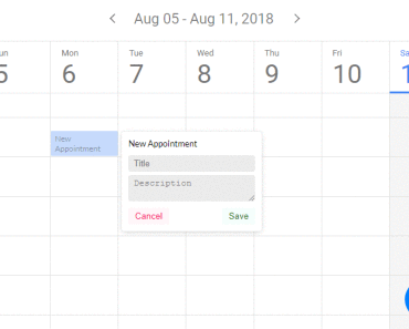 Add Events to Google/Microsoft Calendars With Vue js 2   VueJs Component