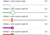 47+【UPDATED】ReactJs Slider Components