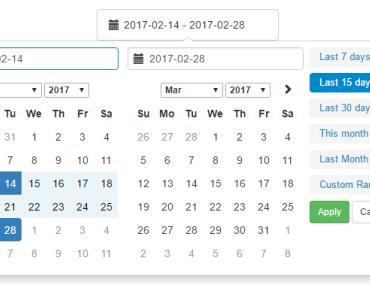 Vue js 2 Calendar & Datepicker Component | VueJs Component